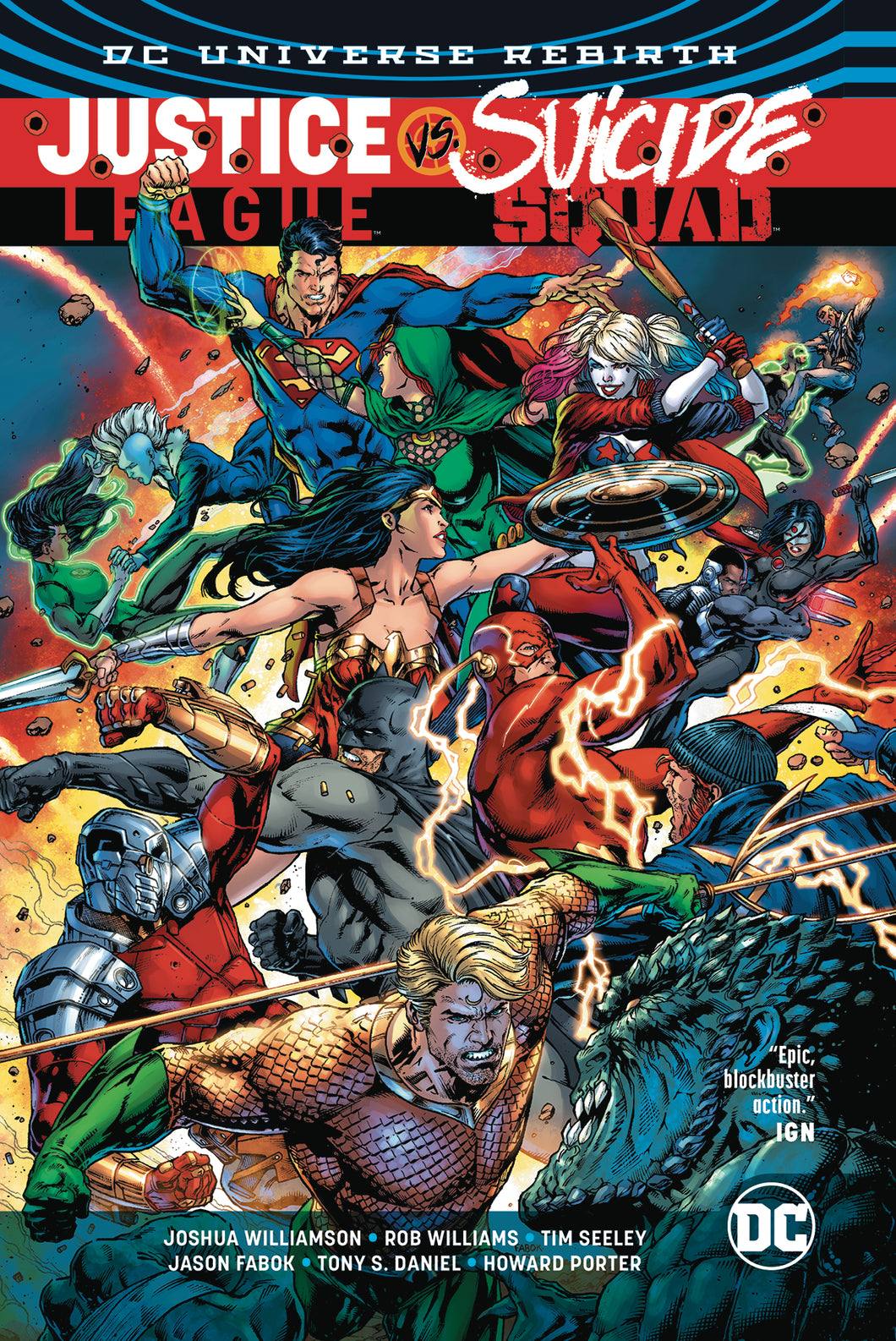 JUSTICE LEAGUE VS SUICIDE SQUAD TP (REBIRTH)
