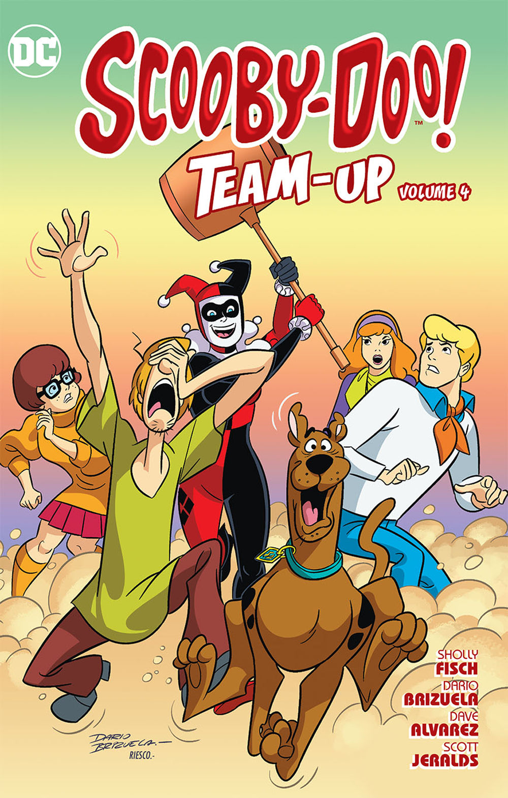 SCOOBY DOO TEAM UP TP VOL 04