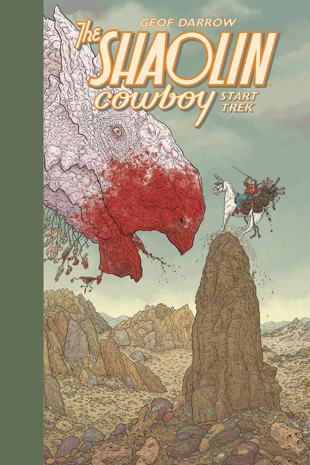 SHAOLIN COWBOY START TREK HC (C: 0-1-2)