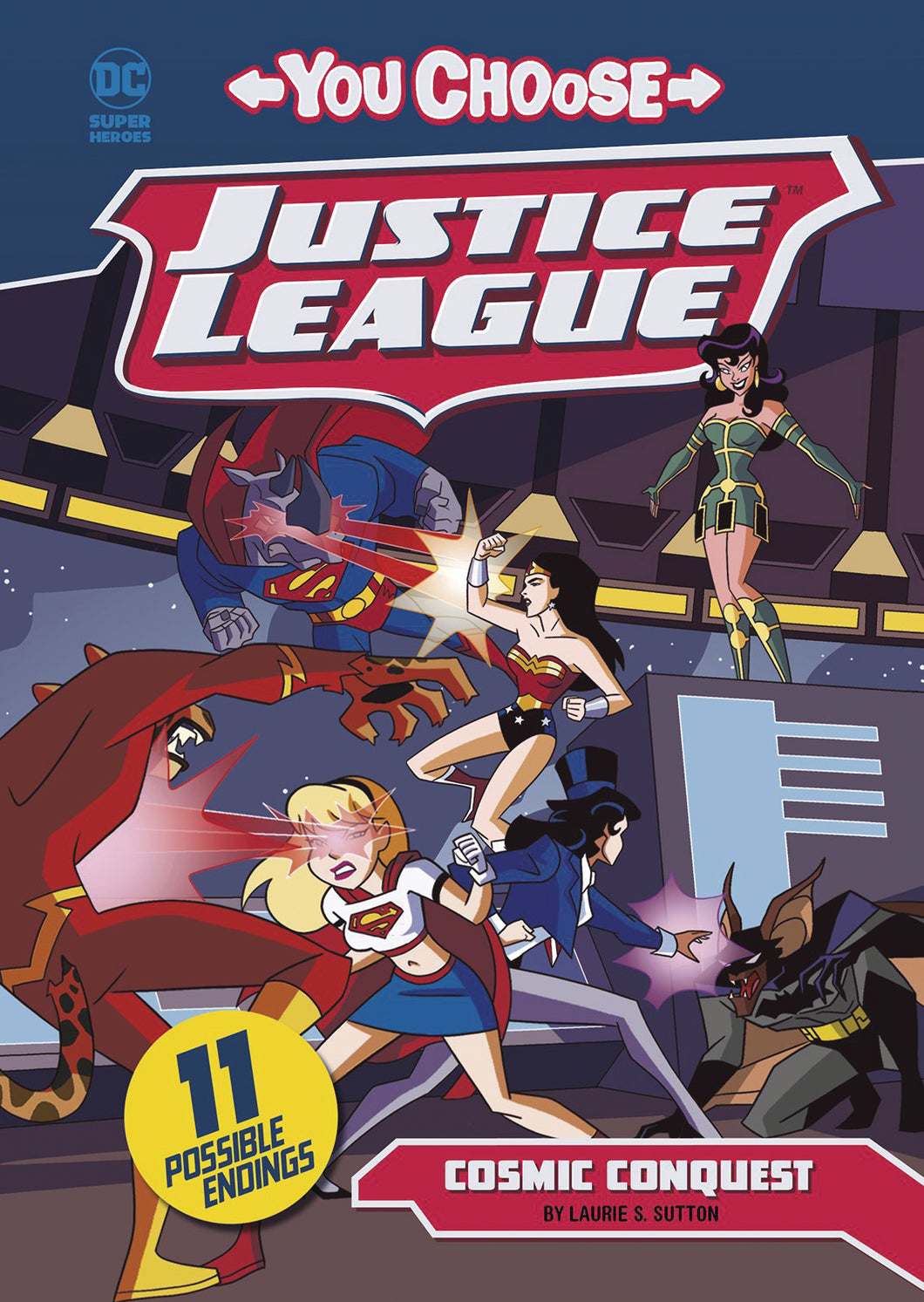 JUSTICE LEAGUE YOU CHOOSE YR TP COSMIC CONQUEST (C: 0-1-0)