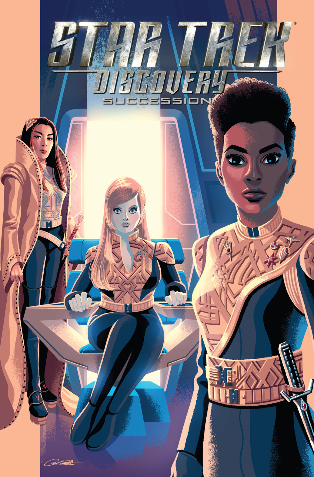 STAR TREK DISCOVERY SUCCESSION TP (C: 0-1-2)