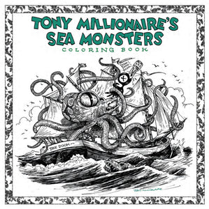 TONY MILLIONAIRE SEA MONSTER COLORING BOOK SC (C: 0-1-2)