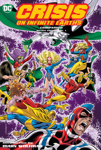 CRISIS ON INFINITE EARTHS COMPANION DLX HC VOL 01