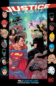 JUSTICE LEAGUE TP VOL 07 JUSTICE LOST