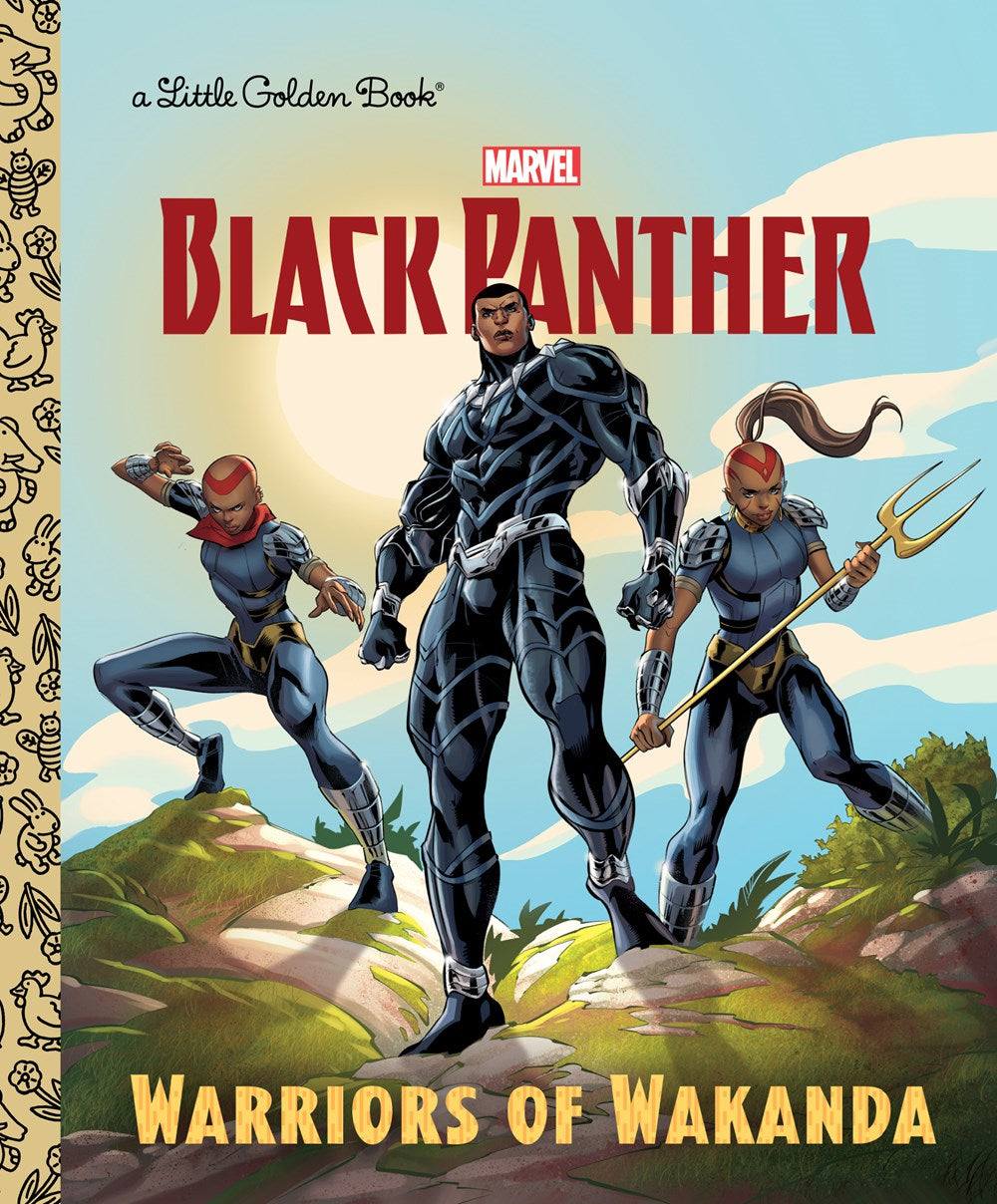 BLACK PANTHER WARRIORS OF WAKANDA LITTLE GOLDEN BOOK (C: 1-1