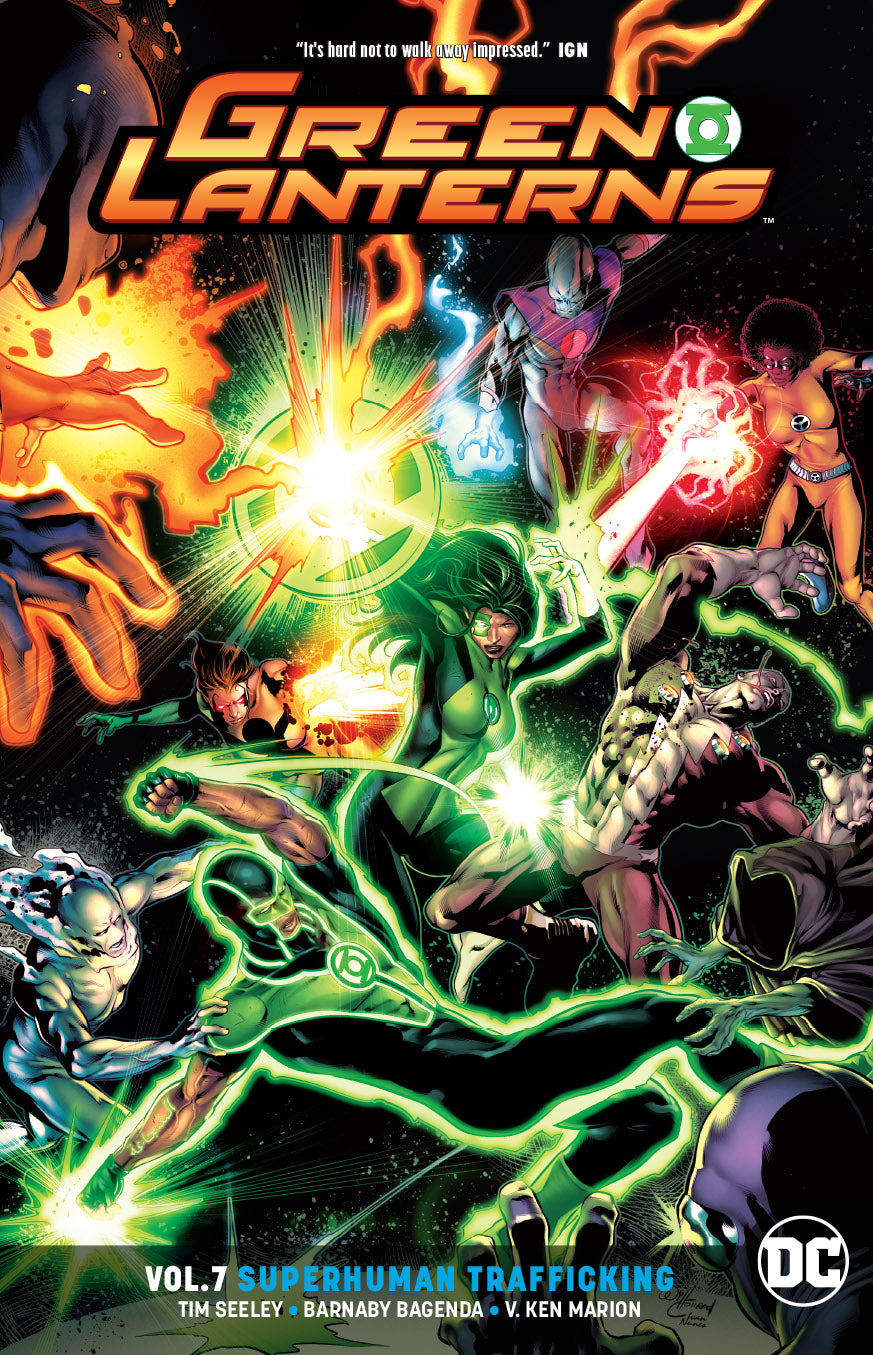 GREEN LANTERNS TP VOL 07 SUPERHUMAN TRAFFICKING