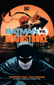 BATMAN VS DEATHSTROKE HC