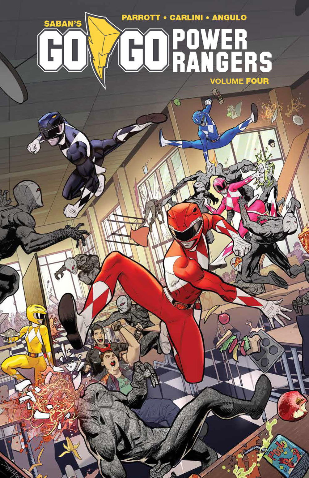 GO GO POWER RANGERS TP VOL 04 (C: 1-1-2)