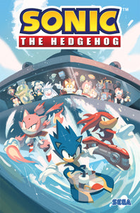 SONIC THE HEDGEHOG TP VOL 03 BATTLE FOR ANGEL ISLAND (C: 1-1