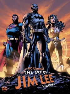 DC COMICS THE ART OF JIM LEE HC VOL 01