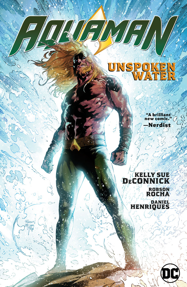 AQUAMAN HC VOL 01 UNSPOKEN WATER