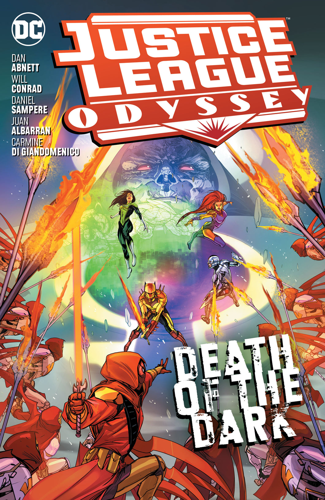 JUSTICE LEAGUE ODYSSEY TP VOL 02 DEATH OF THE DARK