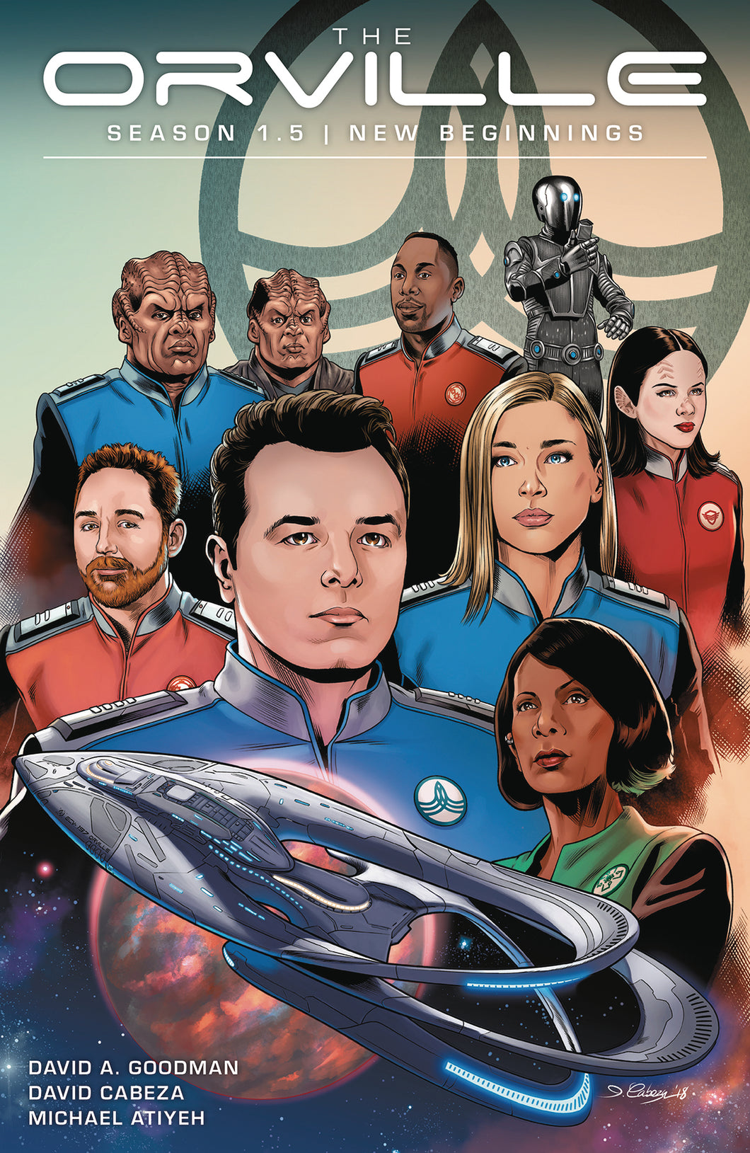 ORVILLE SEASON 1.5 TP VOL 01 NEW BEGINNINGS (C: 0-1-2)