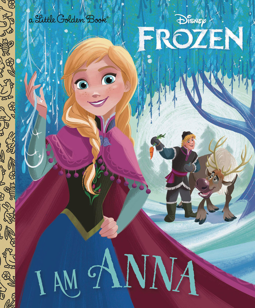 I AM ANNA LITTLE GOLDEN BOOK (C: 1-1-0)