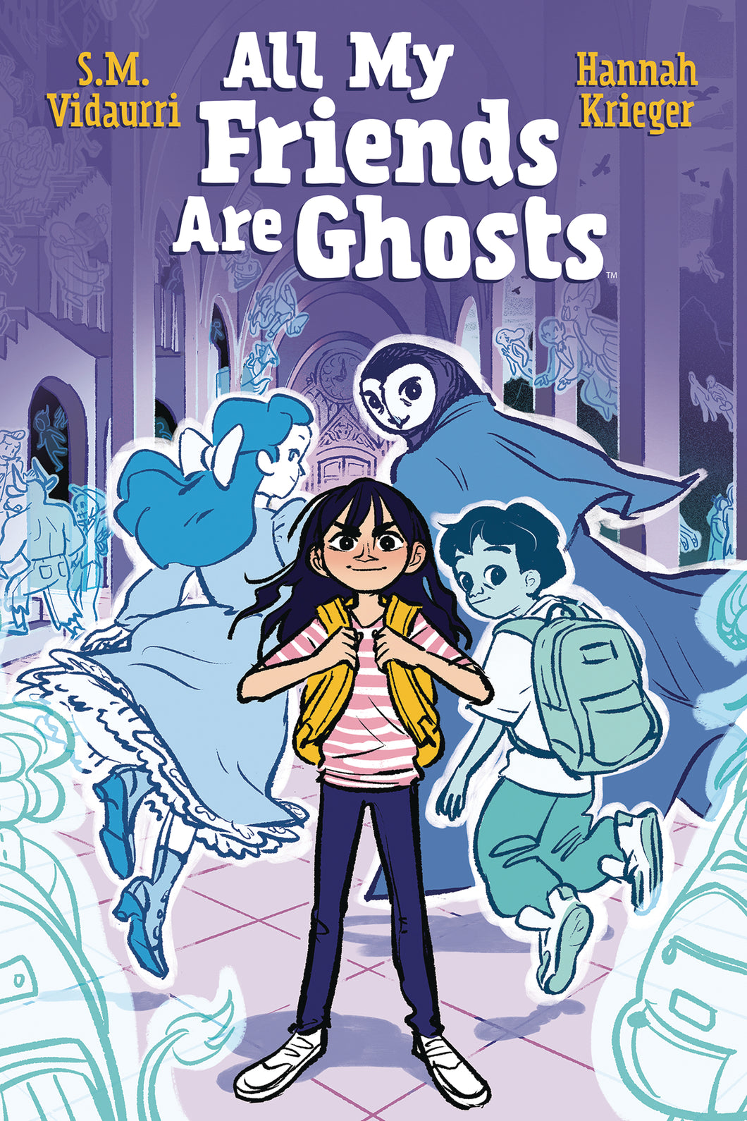 ALL MY FRIENDS ARE GHOSTS ORIGINAL GN (C: 0-1-2)