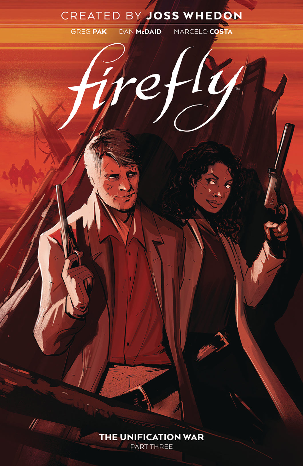 FIREFLY UNIFICATION WAR HC VOL 03