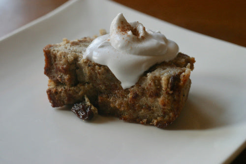 Gluten-Free Vegan Bread Pudding