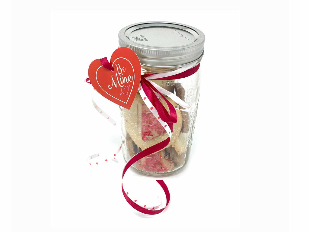 Cookie Hearts in a Jar (Pick-up only)