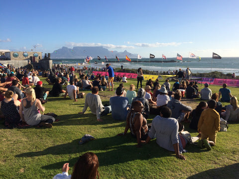 Red Bull King of the Air Venue at Big Bay Cape Town South Africa