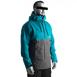 Follow Layer 3.1 Outer Spray Anorak 21 - Small / Teal -