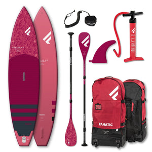 iSUP Package Fanatic Diamond Air Touring Paddleboard - Oceansource