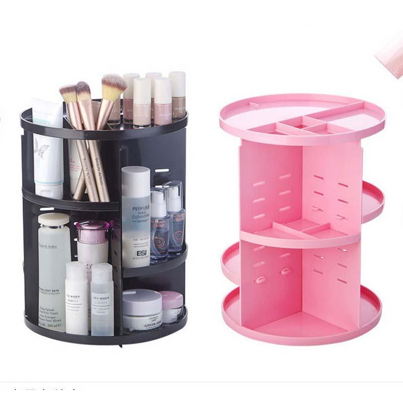 3TE™: 360-degree Rotating Makeup Organizer