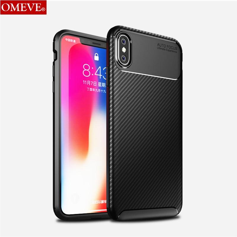 OMEVE™: Carbon Fiber Silicone Case for iPhone
