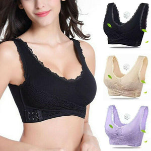 OvaFit™: Front Cross Wireless Lace Lift Comfort Bra (Upgraded 2020)