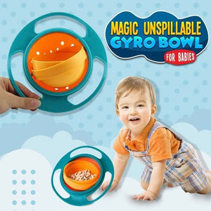 FEEDIE™: Magic Unspillable Gyro Bowl (For Babies)
