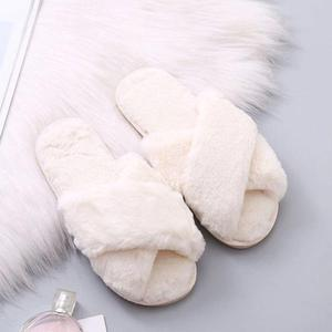 ComfyWalk™: Cross Furry Slippers