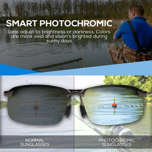 VisionPro™: Photochromic Polarized Sunglasses
