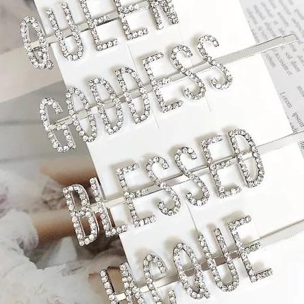 SPERE™: Rhinestone Hair Pins