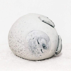 HappyBABY™: Fluffy Seal Pillow (for all Animal-lover Babies)