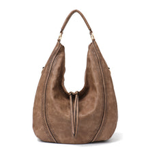 Load image into Gallery viewer, CEZIRA Large Shoulder & Crossbody Bag - Vegan Bag Faux Leather