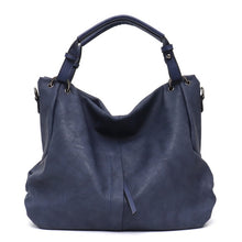 Load image into Gallery viewer, CEZIRA Tote Shoulder Bag - Vegan Bag Faux Leather