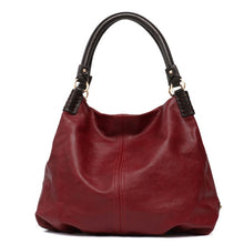 Load image into Gallery viewer, CEZIRA Large Tote Bag - Vegan Bag Faux Leather