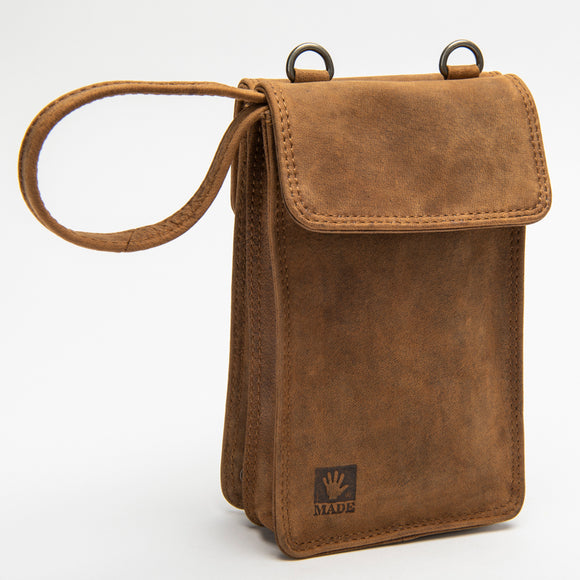 2467 Travel Purse - Bison Leather