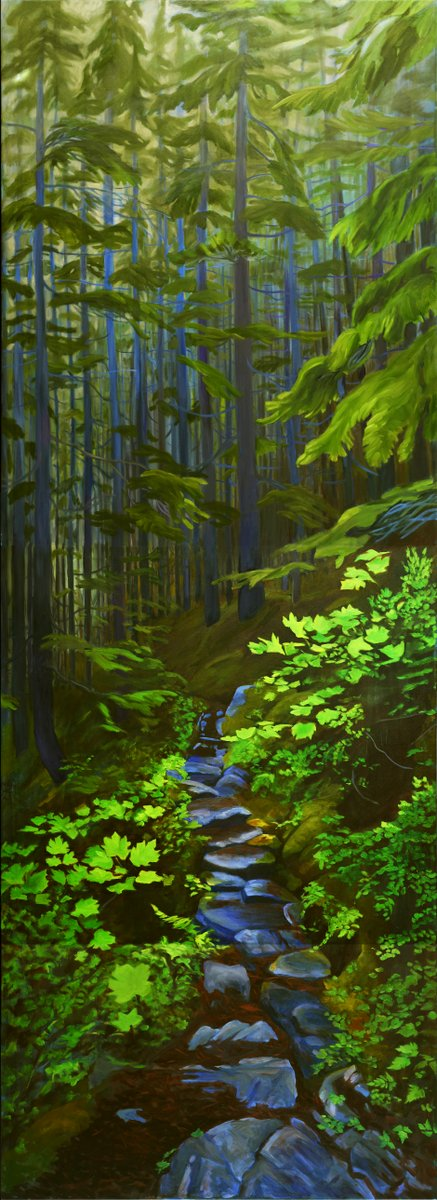 Chilkoot Magic in the Coastal Forest 7x19