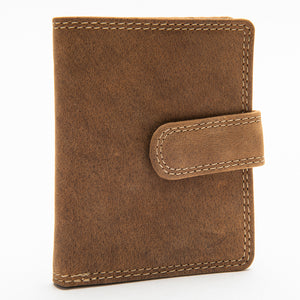 208 Unisex Wallet - Bison Leather
