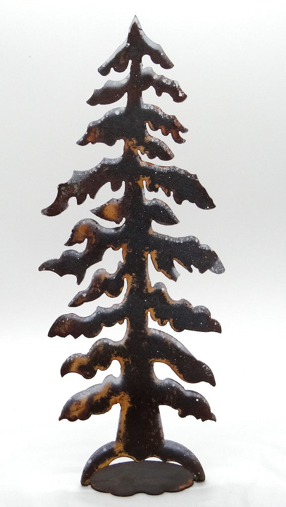 Rusted Snow Tree- Medium