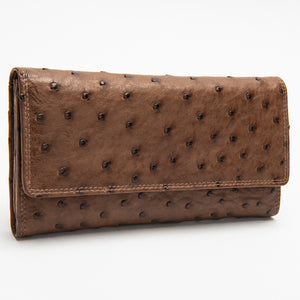 805 Wallet Ostrich Leather