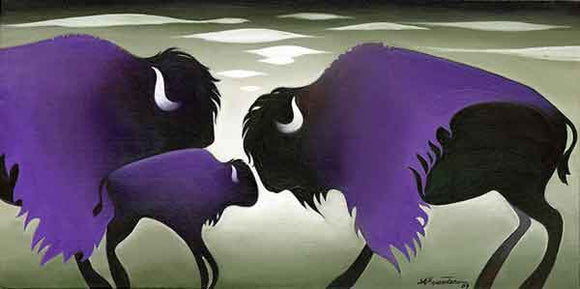 Purple Cloud Bisons LE
