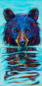 Very Wet Bear Acrylic Large