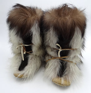 Wolf Fur Boots