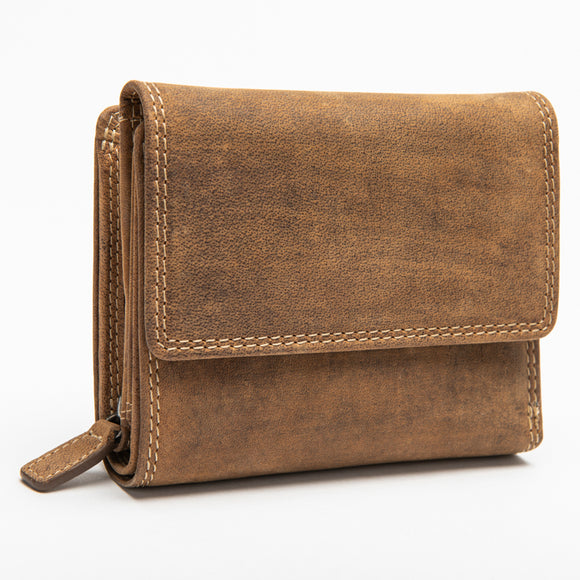 206 Unisex Wallet - Bison Leather