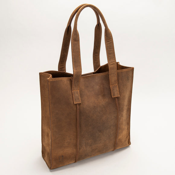 2695 Totebag - Bison Leather
