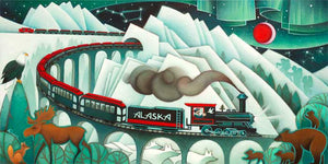 Trains of Alaska LE Lg