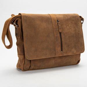 2751 Messenger Bag - Bison Leather
