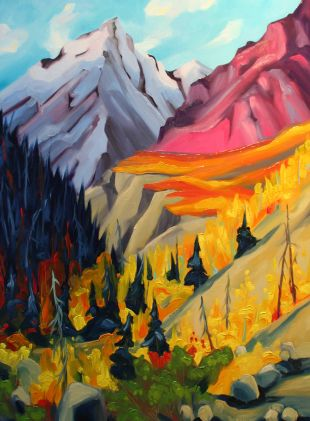 Beauty in Kluane 23x17