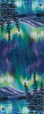 Yukon Art Scarf - Kluane Northern Lights